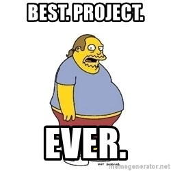 ComicBookGuy - BEST. PROJECT. EVER.