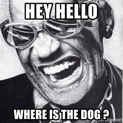 ray charles - Hey Hello Where is the dog ?