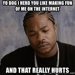 Yo Dawg - yo dog i herd you like making fun of me on the internet and that really hurts