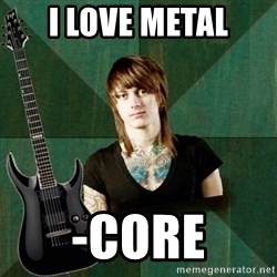 Progressive Guitarist - I love metal -Core