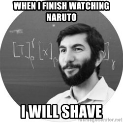 More Homework Mintchev - When i finish Watching naruto I will shave
