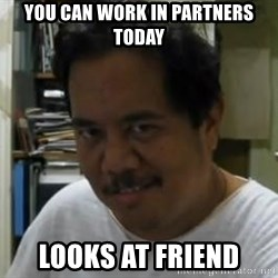 Komikero1 - You can work in partners today looks at friend