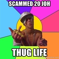 Cool Raper - scammed 20 joh thug life