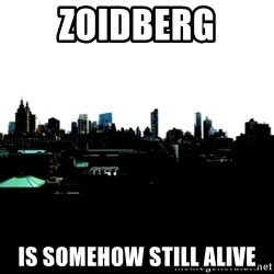 CRAP AND COWL - zoidberg is somehow still alive