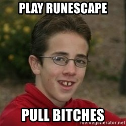 Script Kiddie Anon - play runescape pull bitches