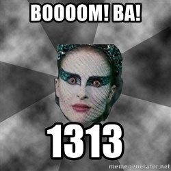 Black Swan Eyes - BOOOOM! BA! 1313