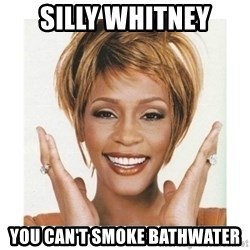 Whitney Houston - Silly whitney You Can't smoke bathwater