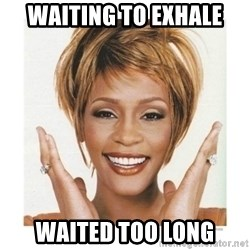 Whitney Houston - waiting to exhale waited too long