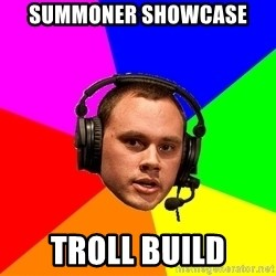 Phreak1 - summoner showcase troll build