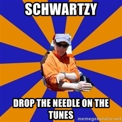 EShuler - SchwartzY DROP THE NEEDLE ON THE TUNES