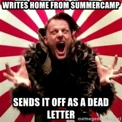 Advice Zoog - Writes home from summercamp sends it off as a dead letter