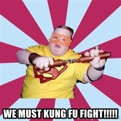Moralfag Mitch -  We MUST KUNG FU FIGHT!!!!!