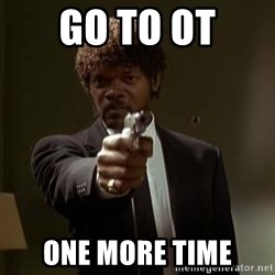 Jules Pulp Fiction - go to ot one more time