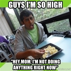 """RAJAL  - guys i'm so high """"hey mom, i'm not doing anything right now"""""""