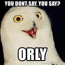 Orly Owl - You dont say, you say? ORLY