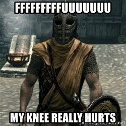 skyrim whiterun guard - ffFFFFFFFUUUUUUU MY knee really hurts