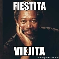 Morgan Freeman - FIESTITA VIEJITA