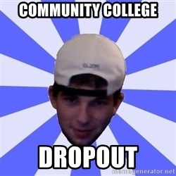Mad Game Mike - community college dropout