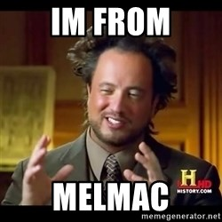 Tsoukalos - im from melmac