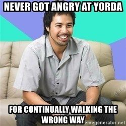 Nice Gamer Gary - never got angry at yorda for continually walking the wrong way