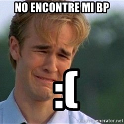 Crying Man - no encontre mi bp  :(