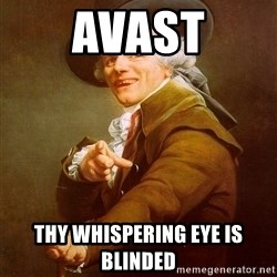 Joseph Ducreux - avast thy whispering eye is blinded