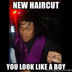 Brutally Honest Ching - NEW HAIRCUT you look like a boy