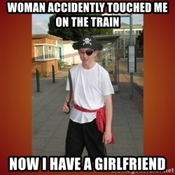 RRRR Ginger - woman accidently touched me on the train now i have a girlfriend