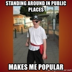 RRRR Ginger - standing around in public places makes me popular