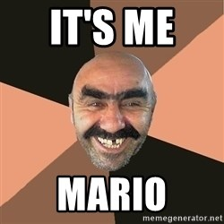 Provincial Man - It's me  Mario