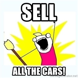 All the things - Sell All the cars!