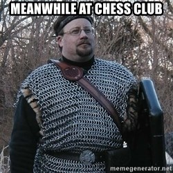 Steel Fighter - Meanwhile at chess club
