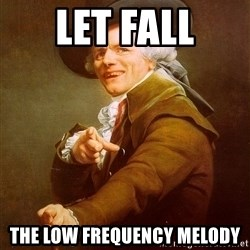 Joseph Ducreux - Let fall The low frequency melody