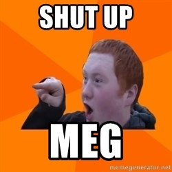 CopperCab Points - shut up meg