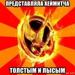 Typical fan of the hunger games - представляла хеймитча толстым и лысым