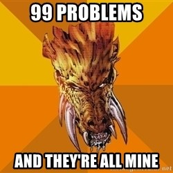Greedy Larfleeze - 99 problems and they're all mine