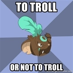 Transformice meme shaman  - To Troll or not to troll