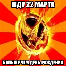 Typical fan of the hunger games - жду 22 марта больше чем День Рождения