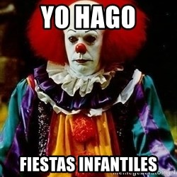 it clown stephen king - yo hago fiestas infantiles
