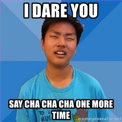 Dissapointed Peter - i dare you say cha cha cha one more time