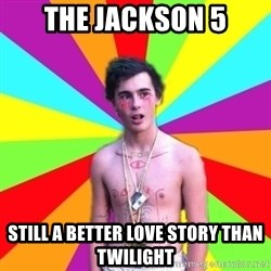 Coked-out Jackson - the jackson 5 still a better love story than twilight
