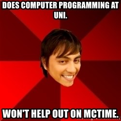 Un dia con paoly - Does computer programming at Uni. won't help out on mctime.