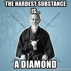 Street-sensei - THE HARDEST SUBSTANCE IS... A DIAMond