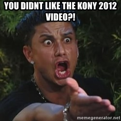 Flippinpauly - you didnt like the kony 2012 video?!