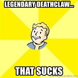 Fallout 3 - legendary deathclaw... that sucks