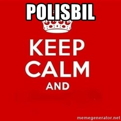 Keep Calm 3 - polisbil