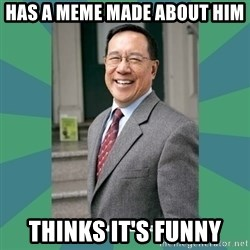 Goodguy Professor - HAS A MEME MADE ABOUT HIM THINKS IT'S FUNNY
