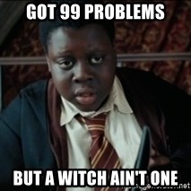 Harry Potter Black Kid - got 99 problems but a witch ain't one