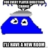 Game Maker Noob - For every player direction change I'll have a new room