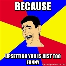 journalist - Because Upsetting you is just too funny